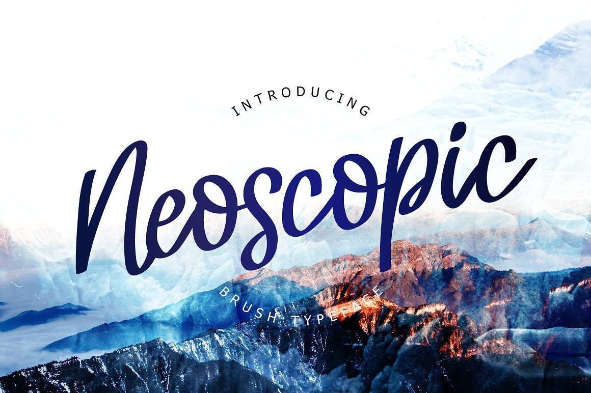 Шрифт «Neoscopic»