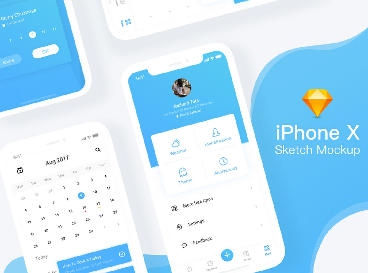 5-iphone-x-sketch-mockup-by-viggoz